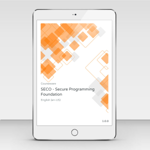 SECO - Secure Programming Foundation - Course Book product photo