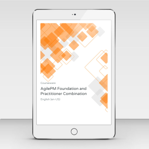 AgilePM Foundation and Practitioner Combination - Course Book product photo