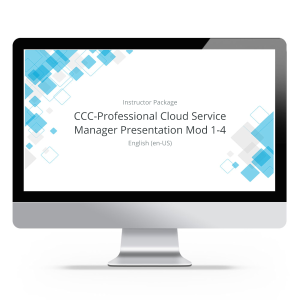 CCC-Professional Cloud Service Manager (PCSM) - Instructor Package product photo