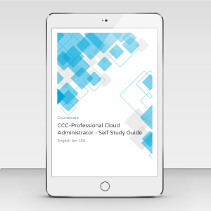 CCC-Professional Cloud Administrator (PCA) - Self Study Guide - Course Book product photo