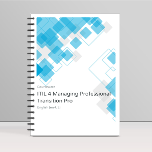 ITIL 4 Managing Professional Transition ITpreneurs Pro - Course Book product photo