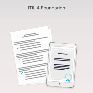 ITIL 4 Foundation - Exam product photo