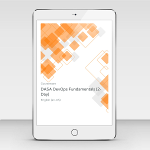 DASA DevOps Fundamentals - Premium (2-Day) - Course Book product photo