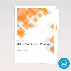 ITIL 4 Foundation - ITpreneurs Premium - Course Book product photo