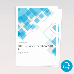 ITIL v3 Service Operation (SO) - ITpreneurs Pro - Course Book product photo