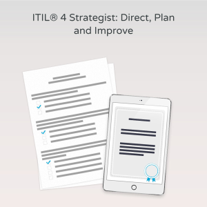 ITIL® 4 Strategist: Direct, Plan and Improve - Exam product photo
