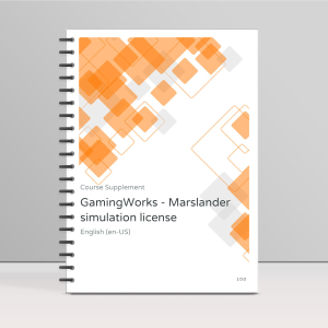 GamingWorks - Marslander simulation license product photo