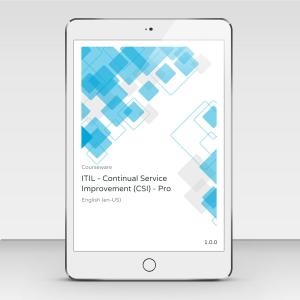 ITIL v3 Continual Service Improvement (CSI) - ITpreneurs Pro - Course Book product photo
