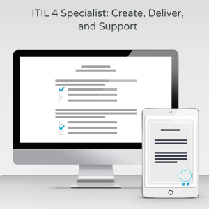 ITIL 4 Specialist: Create, Deliver, and Support - Exam product photo